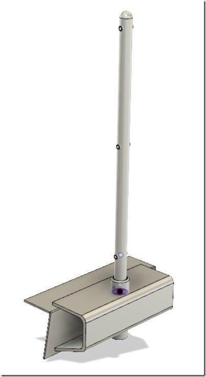 Stanchion & Socket in Rub Rail
