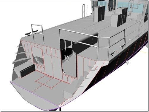 Swim Step layout