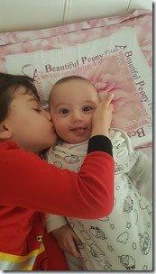 Demir kissing Mert May 4 2019