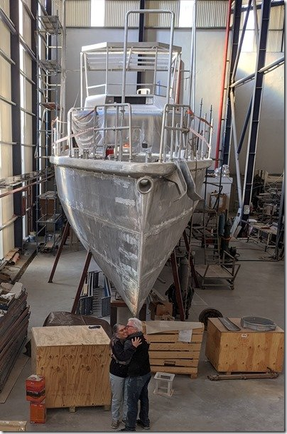 New Year – New Boat–New Baby?  Progress Update XPM78-01 Möbius Dec 30-Jan 03, 2020
